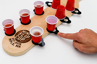 Mini Flip Cup game created by Scienz