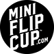 Mini Flip Cup Logo by Scienz, makers of Mini Beer Pong